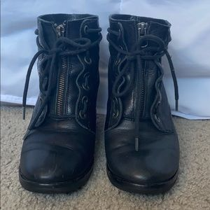 Kork Ease combat boots in size 37